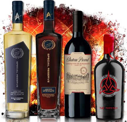 Star Trek Wines Limited Edition Collectors Pack