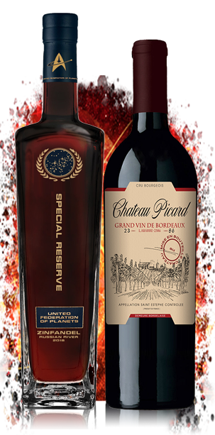Star Trek Wines INAUGURAL COLLECTION 2 Pack