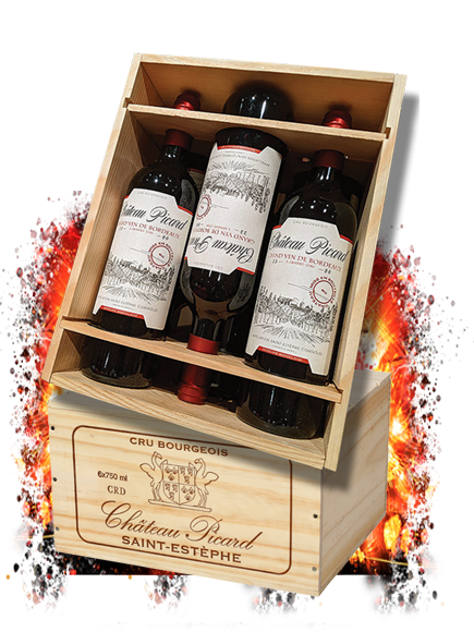 Limited Edition 6 Bottle Engraved Wood Box Set