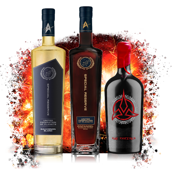 STAR TREK WINES ULTIMATE 3 PACK