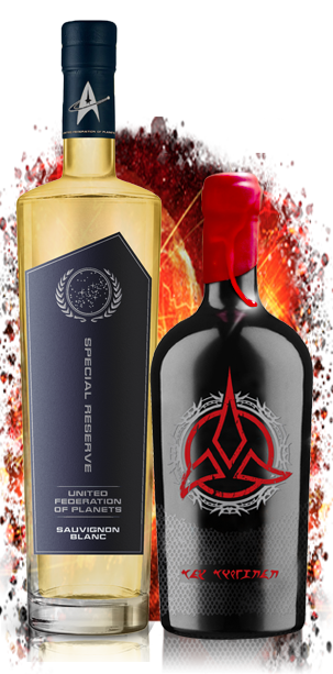 Star Trek Wines A MATTER OF HONOR 2 Pack